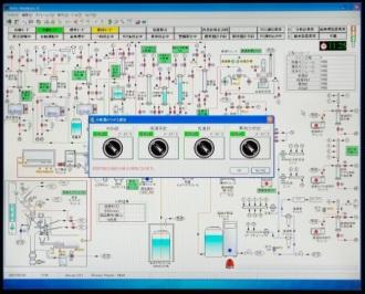 システムフロー図と稼働分析計の選択